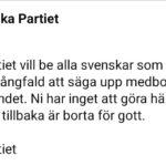 Arabiska partiet: Mångfaldskritiska bör lämna Sverige