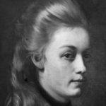 Portrett av kunstnerinnens søster Agathe (1874)