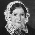 Portrett av Hanna Winsnes (1850).